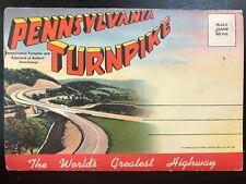 Vintage Postcard>1930-1945>Pennsylvania Turnpike Souvenir Folder