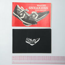 Making Sneakers by Bruce McMillan - Inside Converse Factory (1980, Hardcover)
