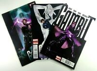 Marvel GAMBIT (2012) #1 Rare NEWSSTAND + #2 2nd Print VARIANT + #3 Ships FREE!