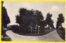 cpsm Rare 91 - ONCY sur ECOLE en 1952 (Essonne) Route de MALESHERBES et d'AUVERS