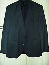 TURO Men's 100% Wool Wedding Jacket Office Bussines Summer Coat 42 in Short NEW