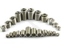 10Pcs M6/M8/M10/M12/M14 304Stainless Steel Thread Repair Insert