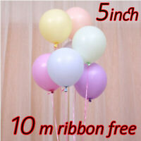 """100pcs Macaron Candy Colored Balloons Pastel Latex Balloons 5"""" Party Decoration"""