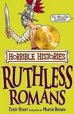 Ruthless Romans by Terry Deary (Paperback, 2008)-9781407104249-G055