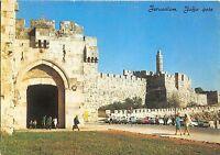 BR4171 Jaffa gate and The Citadel Jerusalem   israel