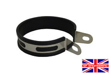 Stainless Exhaust Hanger Strap Bracket Fits 110mm Diameter Central Hanging Strap
