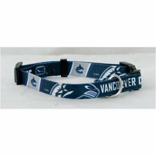 Vancouver Canucks NHL Extra Large XL Dog/Cat Pet Collar