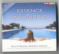 ESSENCE OF WELL-BEING, 3 CD Set, Music for Relaxation, Meditation, Bodywork