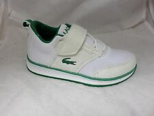 Lacoste junior L. ight Baskets Blanc UK 10 EUR 28 EM33 79