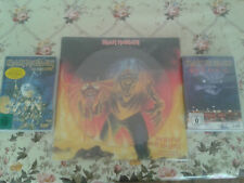 Iron Maiden LP The Number of the Beast Picture mit 2 DVD,s