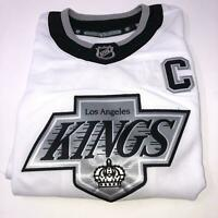 Kings Stitched NHL Los Angeles Official NHL Anze Kopitar Jersey Youth Size 4-7