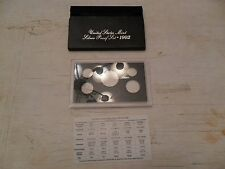 1992 *SILVER* Proof Set Box and Lens ONLY