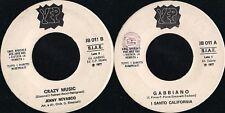 DISCO 45 Giri   I Santo California / Jenny Nevasco - Gabbiano / Crazy Music  JB