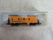 MODEL POWER  -  N SCALE -  BAY WINDOW CABOOSE   # 3121  CHESSIE