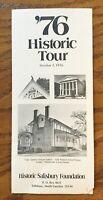 Vintage Ephemera 1976 Bicentennial Historic Salisbury Rowan NC Tour Pamphlet