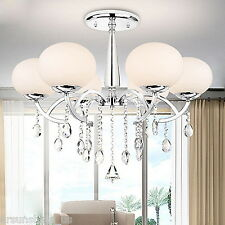 Modern LUXURY Crystal Chandelier Chandelier hanging lamp ceiling light 6 lamps