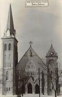 Tipton Indiana~Saint John Catholic Church~1948 Melvin Hensley Studio~RPPC