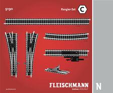 Fleischmann Spur N 9190 Gleisset C NEU/OVP