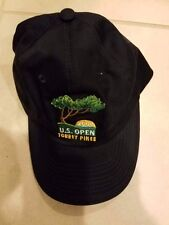 2008 US Open Torry Pines Golf Trucker Hat Cap - Blue - Embroidered-New!