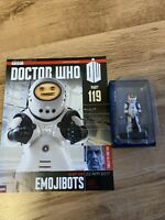 DOCTOR DR WHO EAGLEMOSS - PART 119 EMOJIBOT - BOXED FIGURE & MAGAZINE