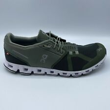 On Running Cloud Men's Shoes Size 10.5 Medium (Forest/Jungle) Worn Once