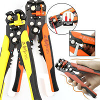 Automatic Cable Wire Crimper Crimping Tool Stripper Adjustable Plier Cutter New