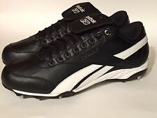 Reebok Gold Metalist Steel Baseball Cleats Black/White Sz 13 New In box