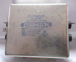 Filtro di Rete Noise Filter RTEAerovox  120 / 250 V 16A 50/60 Hz A16DMS1C61