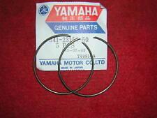 Yamaha TZ750 Front Fork Oil Seal Clips x 2.Genuine Yamaha. New,49F