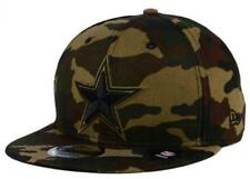 Official NFL Dallas Cowboys Camo on Canvas New Era 9FIFTY Snapback Hat
