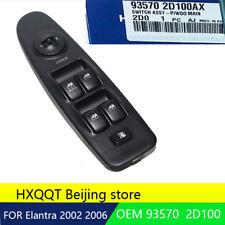 Power window switch Left for Hyundai 2002-2006 Elantra OEM NEW [935702D100AX]