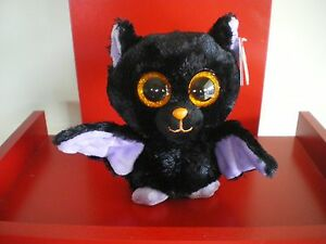 Ty Beanie Boos Swoops bat sparkly eyes 6 inch NWMT. Red tag. IN STOCK NOW.