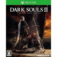Dark Souls III The Fire Fades Edition MICROSOFT XBOX ONE  JAPANESE NEW IMPORT