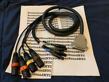 Sound Devices 788t Mogami Gold AES Snake 8-Ch AES / DB25 to XLR and mini-XLR