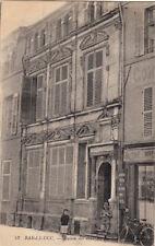BAR-LE-DUC 33 maison des deux barbeaux écrite