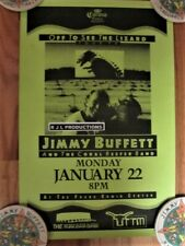 Jimmy Buffett Corona Extra Presents 1990 Off To See The Lizard Tour Poster 11x14