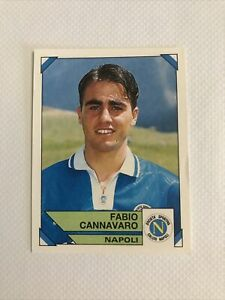 CANNAVARO ROOKIE n.198 Napoli 1993 94 Figurina Calciatori Panini New RARE MINT