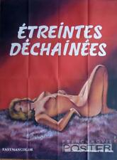 ETREINTES DECHAINEES - NAKED WOMAN / X RATED - ORIGINAL LARGE MOVIE POSTER