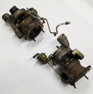 2003-2006 PORSCHE CAYENNE (955) 4.5L V8 M48.50 TURBO ENGINE TURBOCHARGER SET (2)