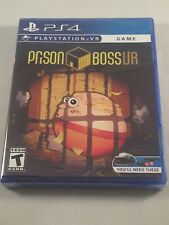Prison Boss VR (PS4) PSVR Limited Run Games #257 Brand New Sealed PlayStation 4