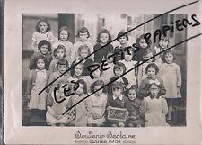 LORETTE PHOTO DE CLASSE 1951 LOIRE 42