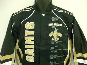 New Orleans Saints NFL Children's Franchise Jacket Size Youth Medium Free Ship