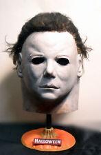Halloween PUMPKIN TOP  MICHAEL MYERS MASK STAND..FREDDY JASON KIRK DON POST