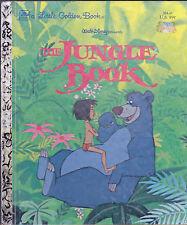 The Jungle Book Little Golden Book Walt Disney 2nd print