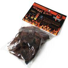 Pure Dried Ghost Chile Pods (Ghost Chili, Bhut Jolokia, Naga Bhut Jolokia)