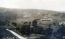 Totley Moors Rifle Range Nr Sheffield unused sepia RP old postcard