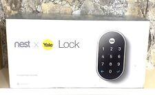 NEST X YALE Smart Lock SATIN NICKELConnect 081023007177
