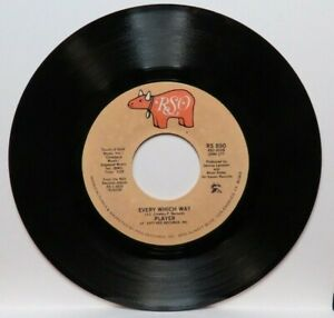 PLAYER EVERY WHICH WAY/THIS TIME I'M IN IT FOR LOVE (NM) RS-890 45 RECORD