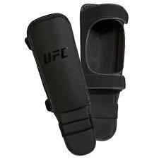 UFC MMA INSTEP SHIN Guards Pro Martial Arts Kick Boxing Black AD Licensed L/XL