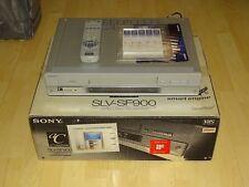 Sony SLV-SF900 VHS-Videorecorder, komplett in OVP, sehr gepflegt, 2J. Garantie